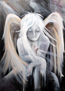 angels the storyteller - Marie Åkerlund Konst